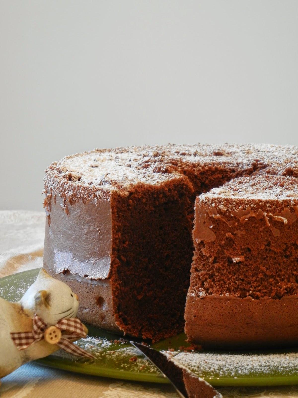 Fluffosa al cacao e vaniglia