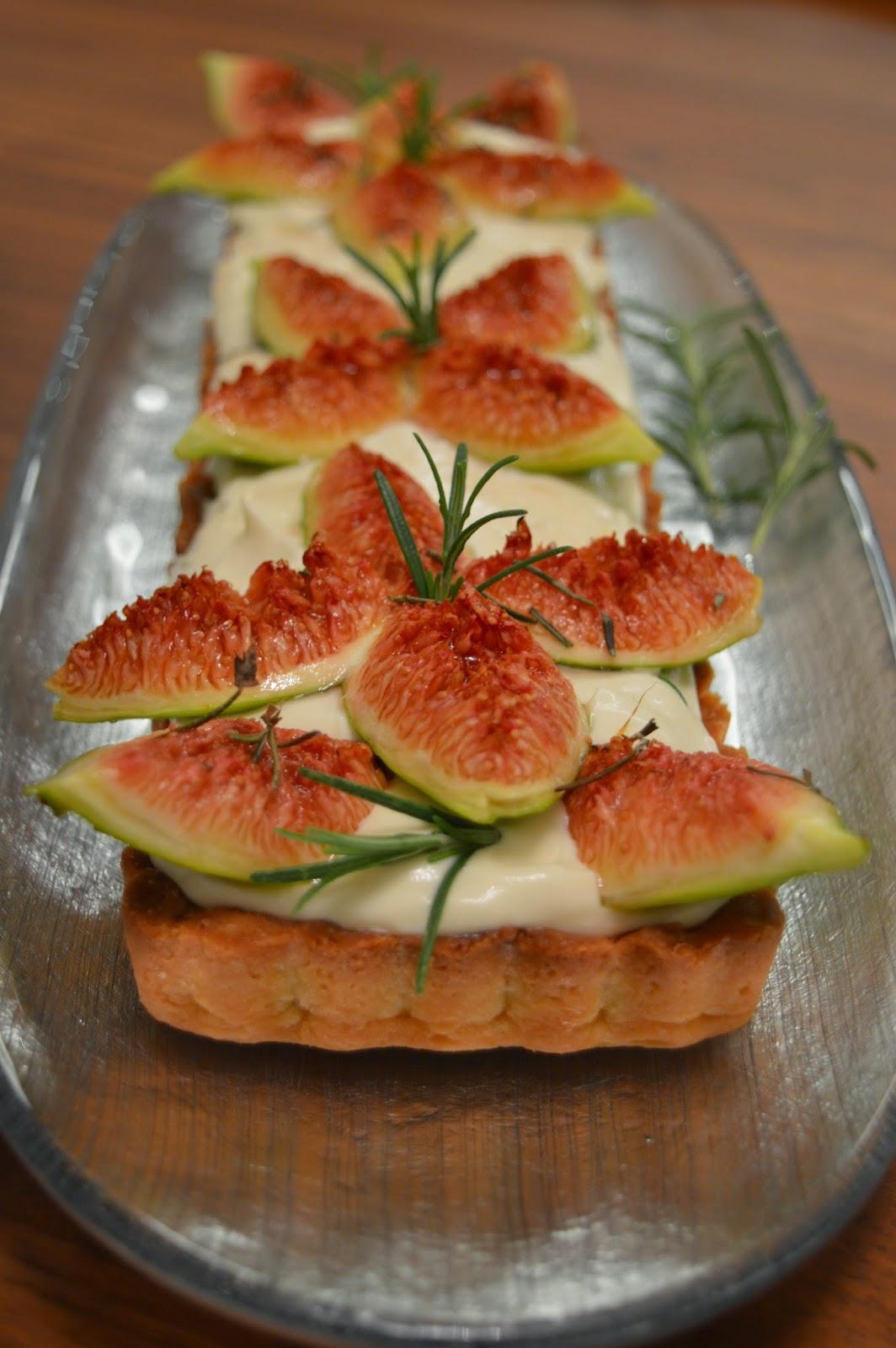 Rosemary Fig Tart – #Re-Cake11