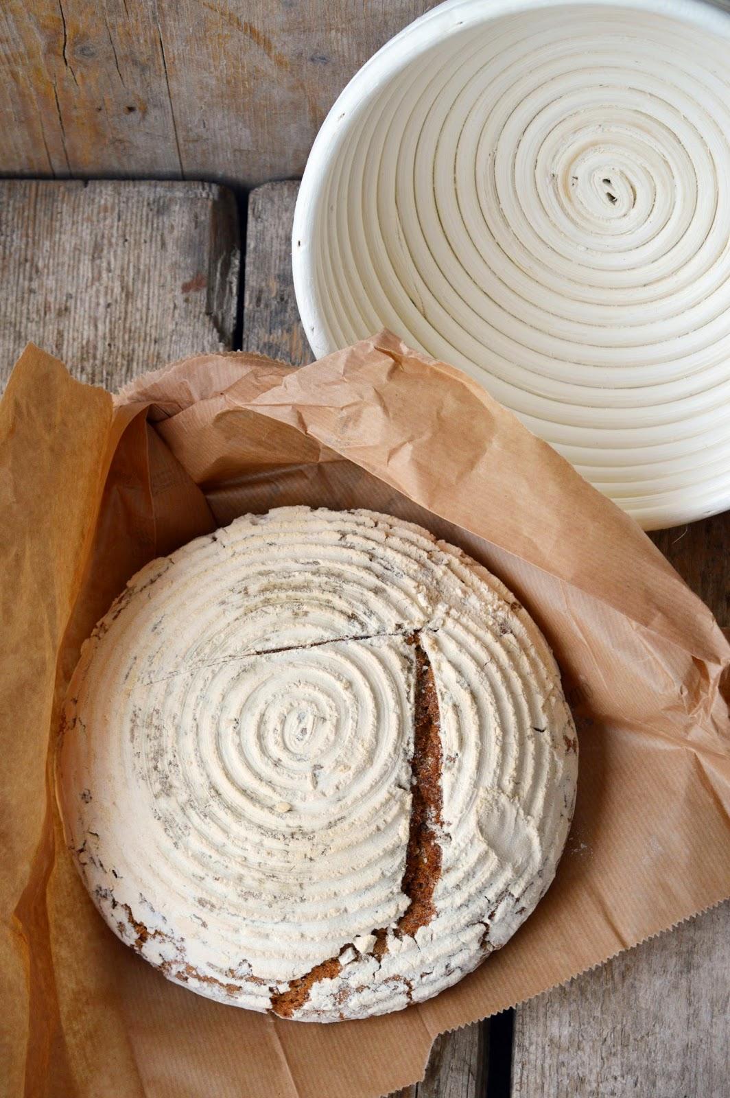 Pane di segale e semi di cumino