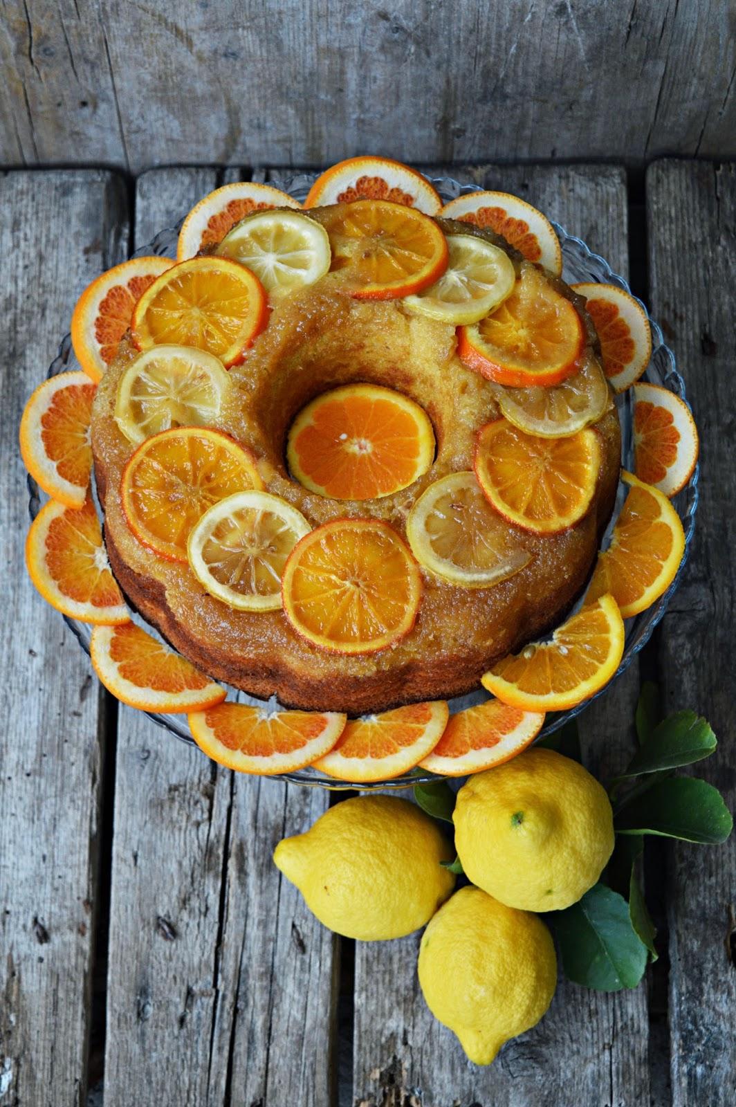 Torta speziata agli agrumi – Winter citrus upside down cake #Re-Cake2.0