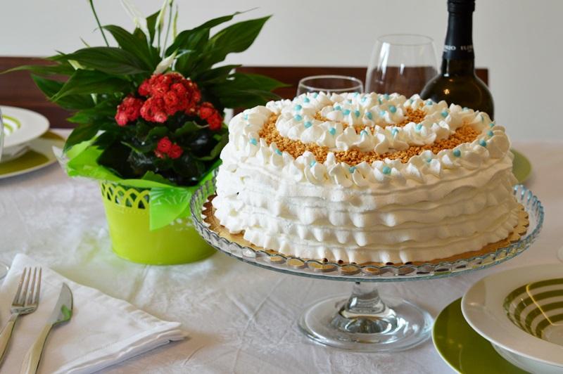 Frou frou cake allo zabaione