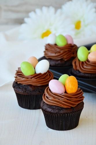 Muffin Extradark di Pasqua