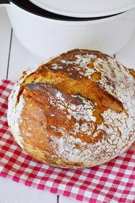 No Knead Bread – Pane senza impasto