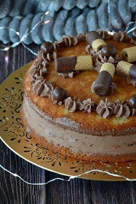 Torta di pan di zenzero con crema al mascarpone e cacao – 4° mese Niccolò