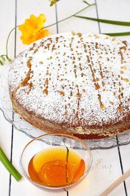 Torta integrale al miele