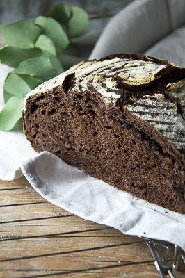Pane al cioccolato (no-knead bread)